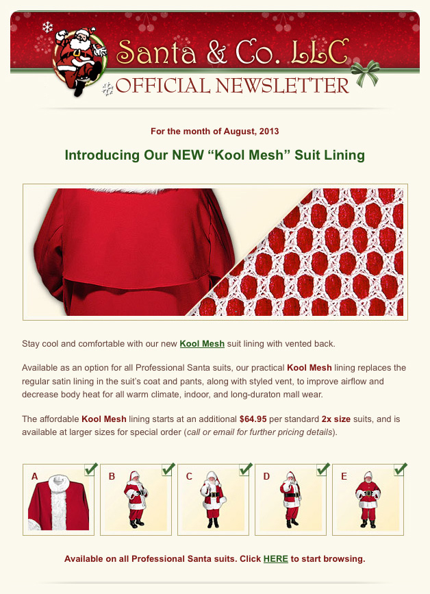 Newsletter Sampler