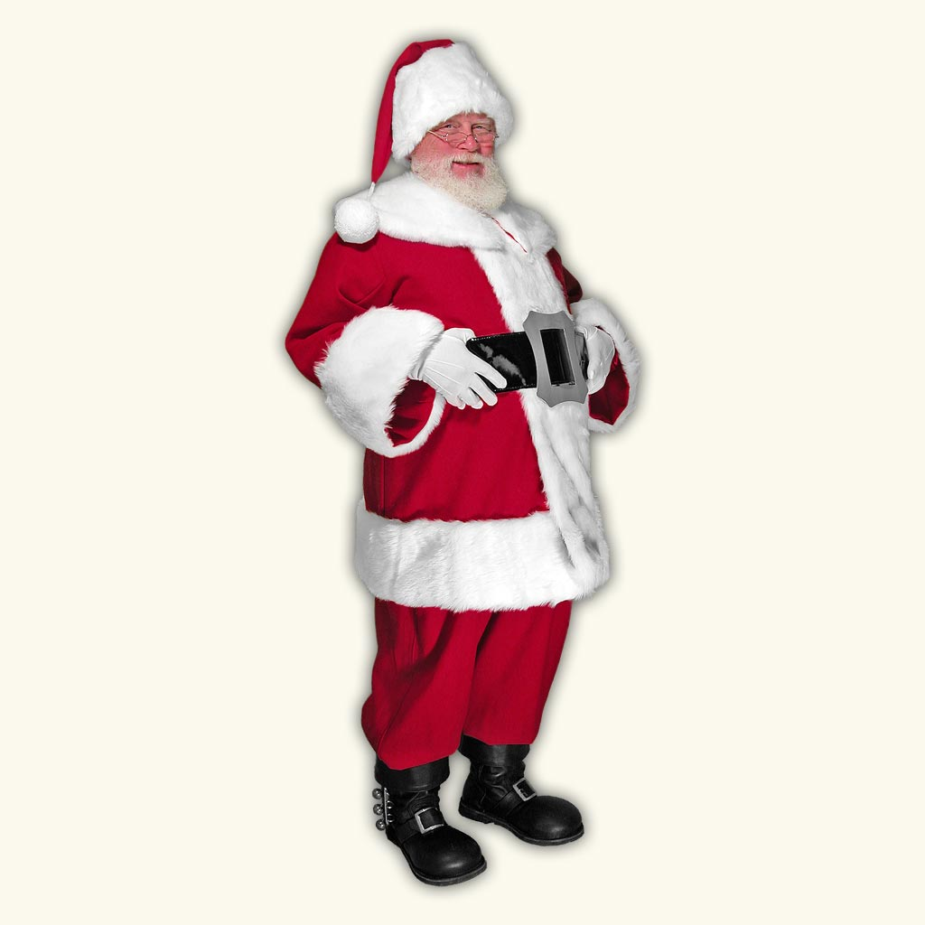 New Classic Professional Santa Claus Suit