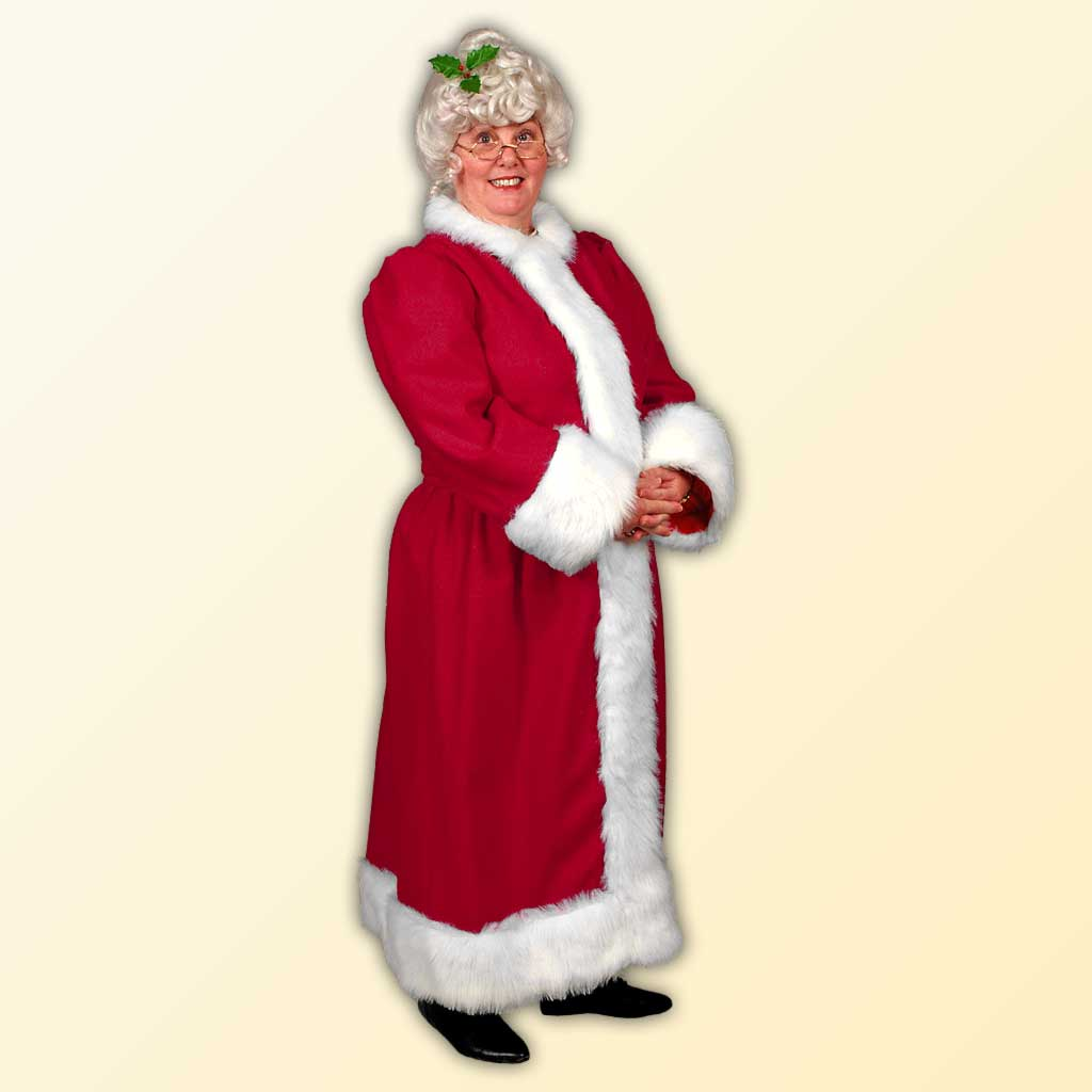 Mrs. Claus (A) Style Dress