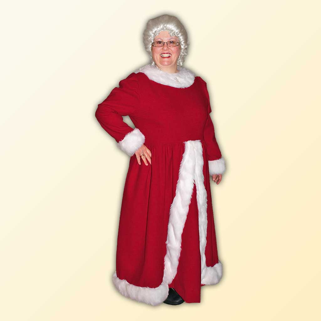 Mrs. Claus (B) Style Dress