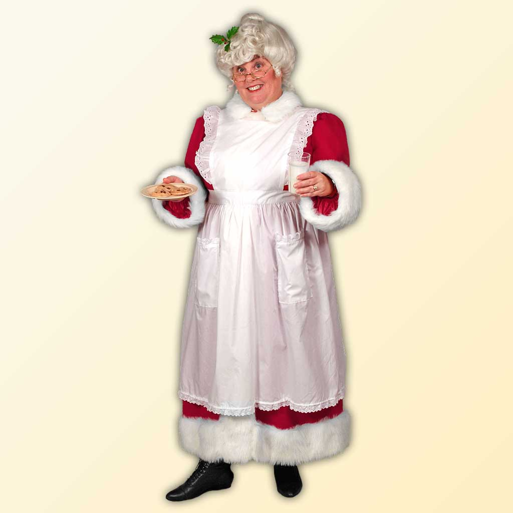 Mrs. Claus Full Apron