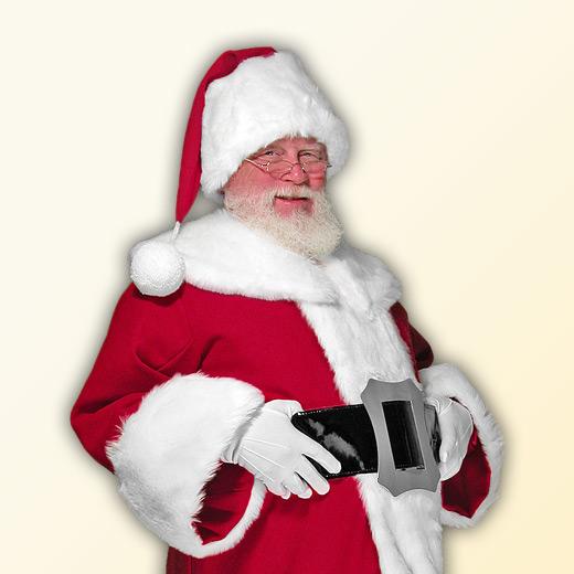 (B) New Classic Professional Santa Claus Suit