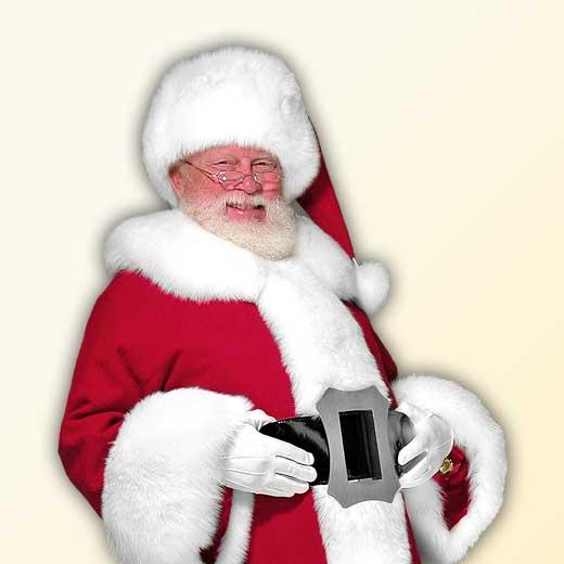 (C) Classic Professional Santa Claus Suit Rabbit