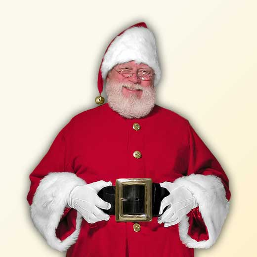 (E) Cola Professional Santa Claus Suit