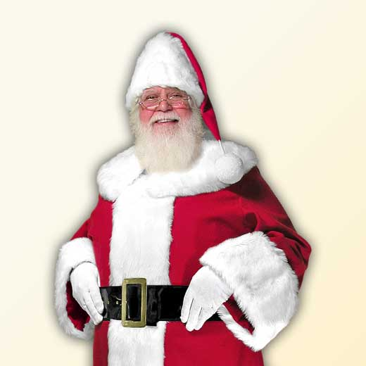 (F) Traditional Starter Santa Claus Suit