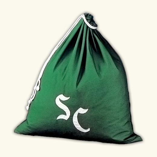 Monogrammed Toy Bag