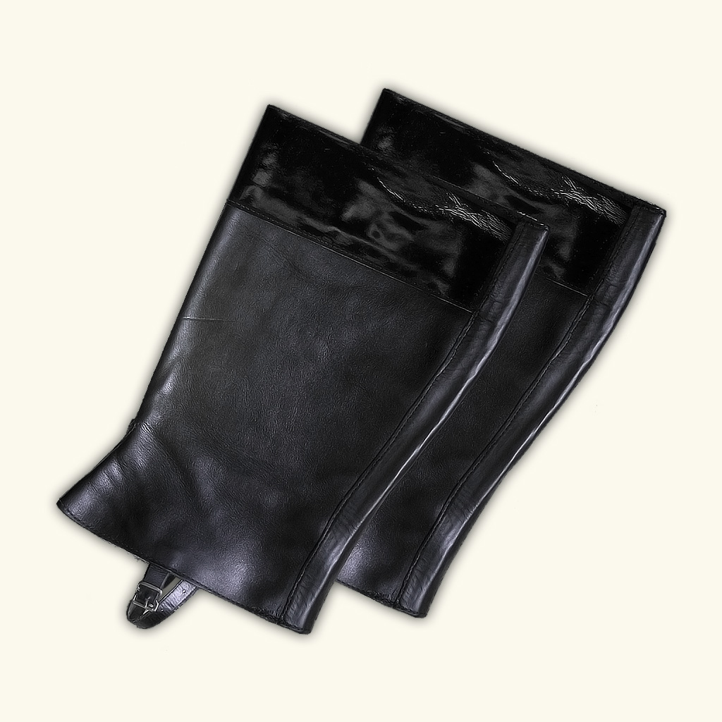 Patent Leather Boot Tops