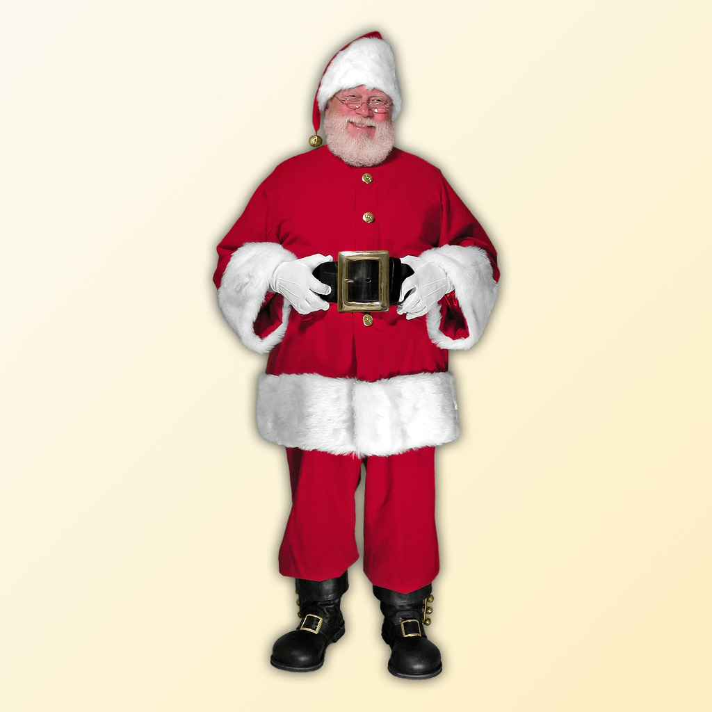 (E) Cola Professional Santa Claus Suit