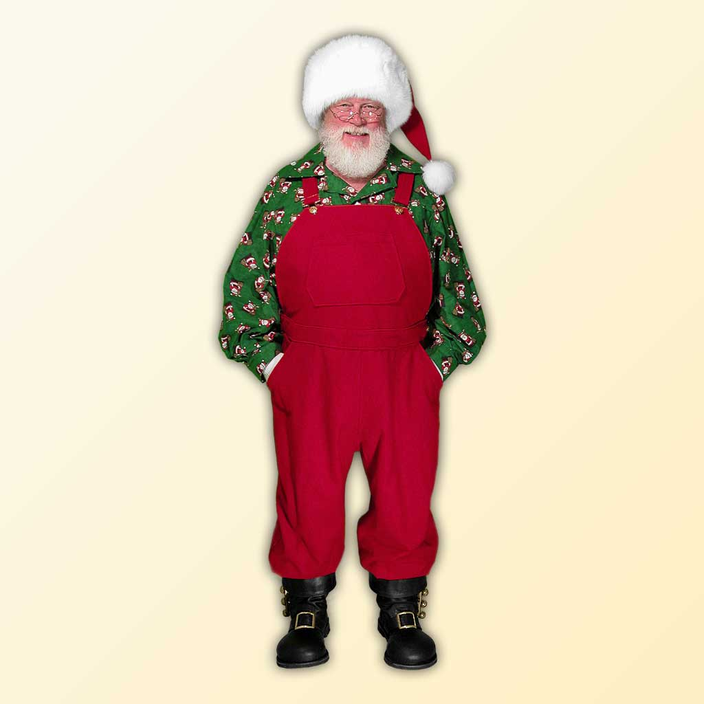 Santa's Workshop Bib Overalls