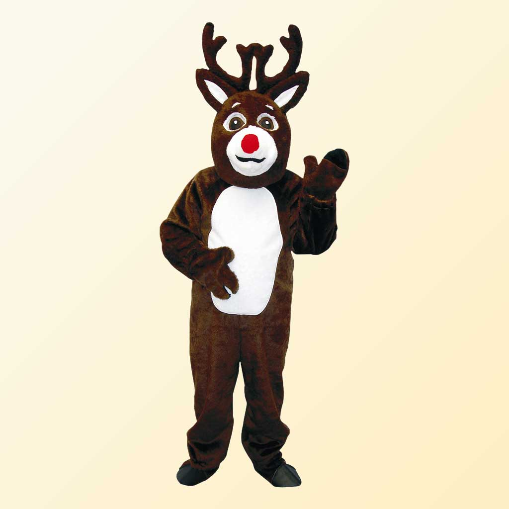 (Halco) Reindeer Costume w/Mascot Head - 1292-H