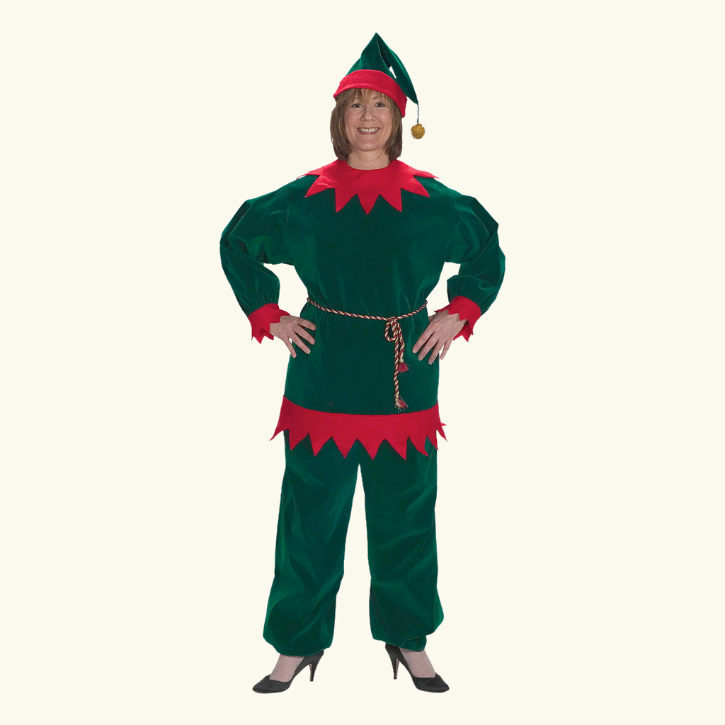 (Halco) Velvet Elf Costume - 1198