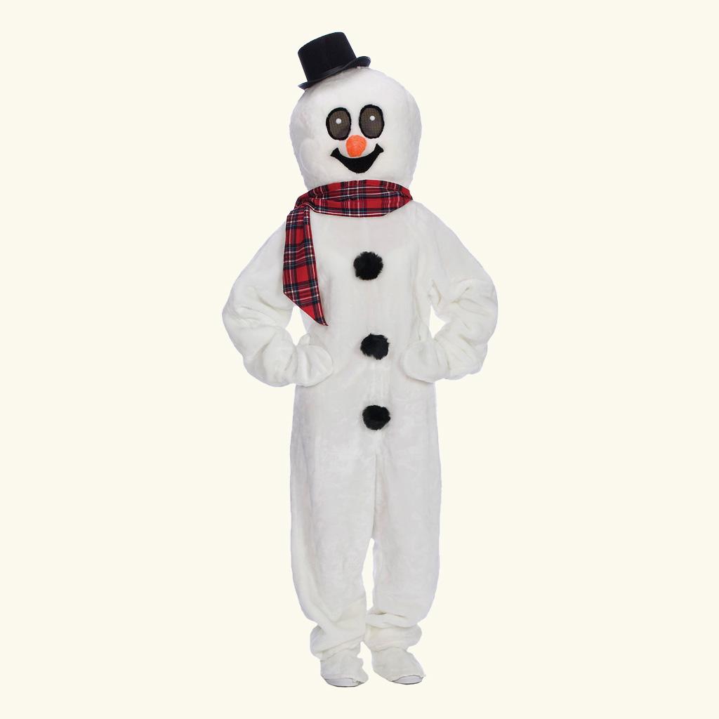 (Halco) Snowman Costume w/Mascot Head - 1282