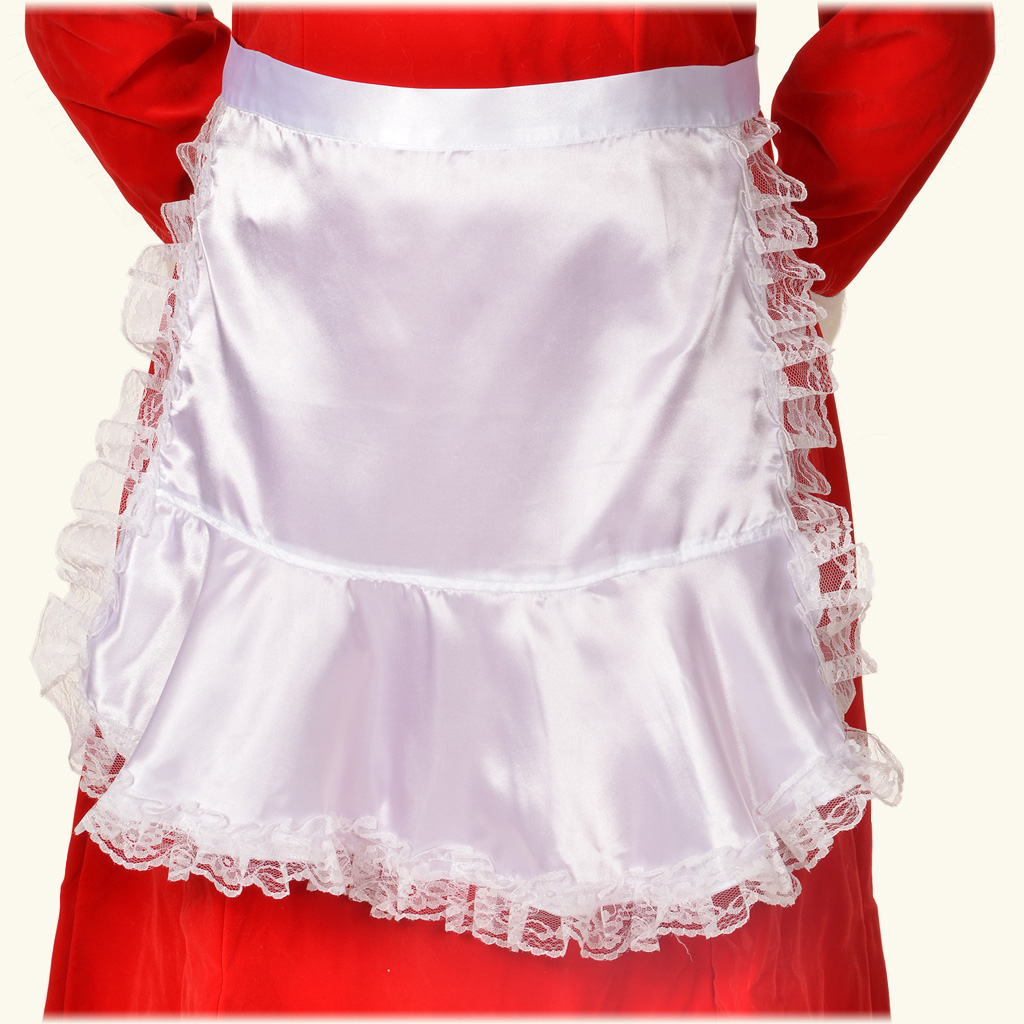 (Halco) Long Satin Apron - 7049