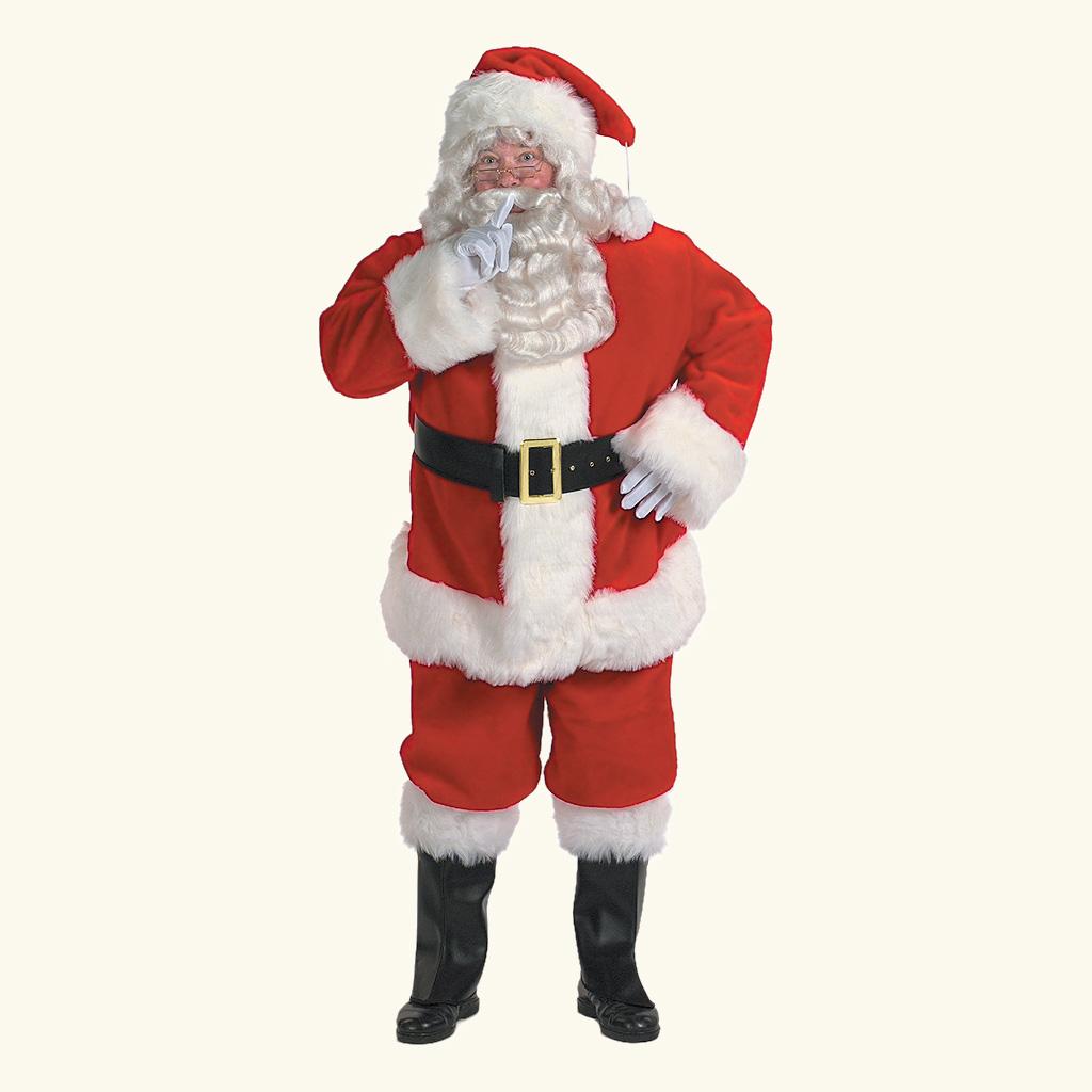 (Halco) Professional Santa Claus Costume - 9191