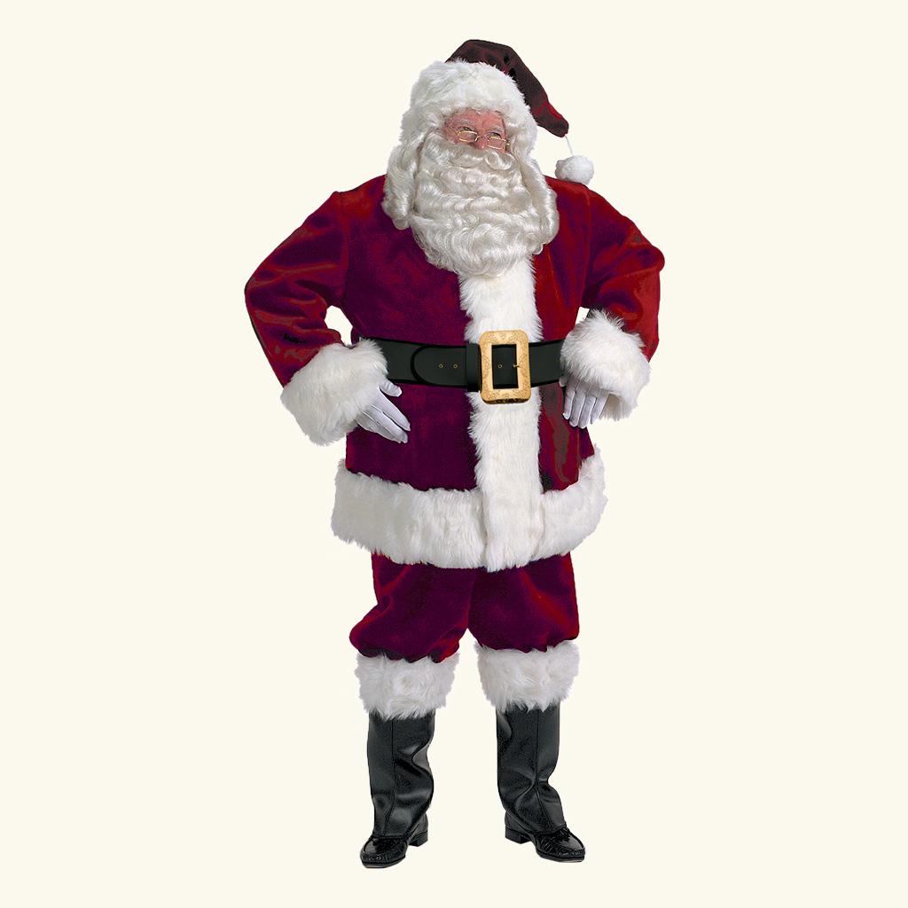 (Halco) Majestic Santa Claus Costume - 9591