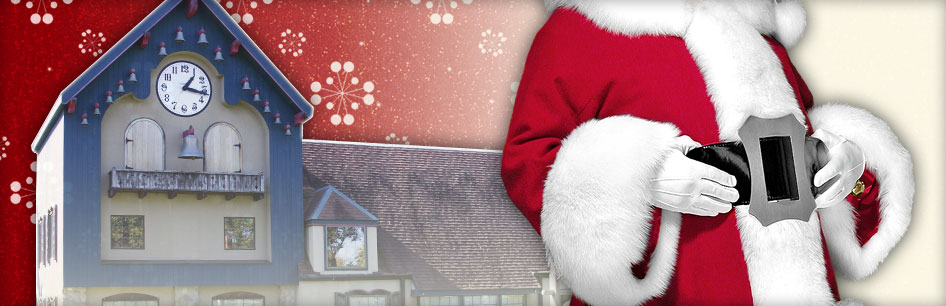 Visit us at the C.W.H. Santa Claus School in Midland, Michigan Oct. 15-17th