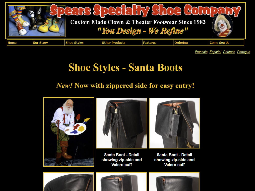 spearshoes.com