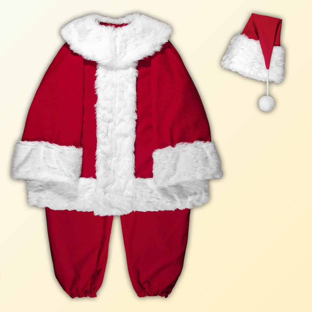 (D) Mall Professional Santa Claus Separates