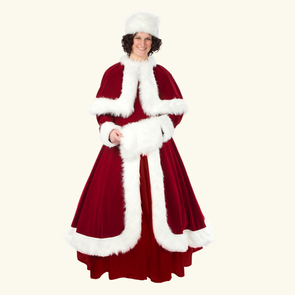 (Halco) Bell of the Christmas Ball Mrs. Claus Costume