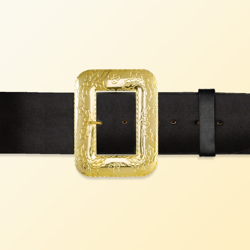 (Halco) Leather Santa Claus Belt - 9970